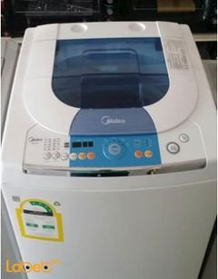 Midea Washer & Dryer Condenser - 10Kg - White - AW130 model
