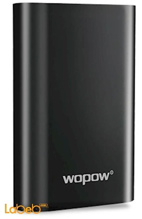 Wopow Power Bank 10050mAh 2xUSB ports Black P10+plus