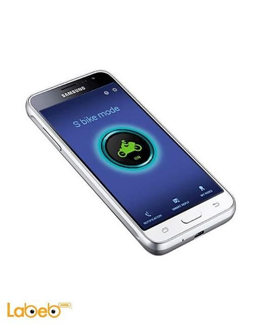 Samsung Galaxy J3 (2016) smartphone 8GB white