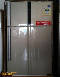 HITACHI refrigerator - 19CFT - gold color - R-V725PS3K