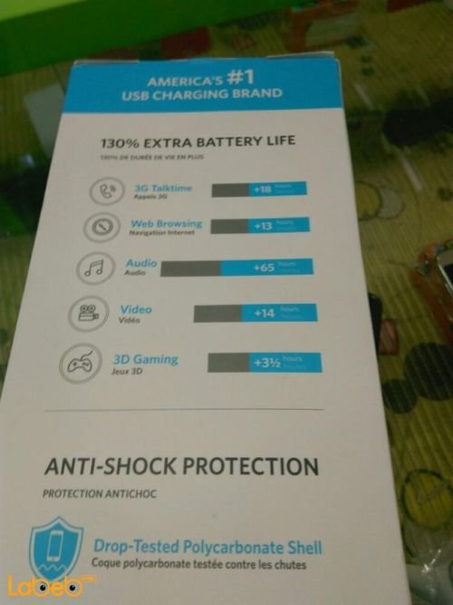 Anker protective battery case for iPhone 6 specifications 3100mAh Black