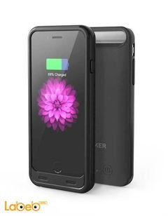 Anker protective battery case - 3100mAh - for iPhone 6 - Black