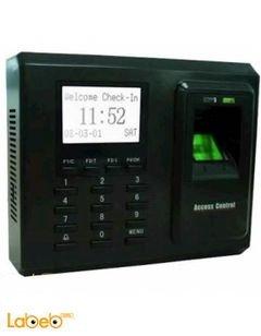 جهاز دوام بصمة ZKTeco - شاشة 3 انش - منفذ USB - موديل TX-628