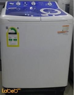 Samsung Twin Tup washing machine - 5kg - White - WT50J8BFCH model