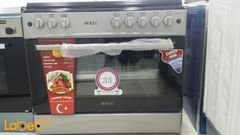 Rollc Oven - 60*90 cm - Silver color - RCP9060F5B model