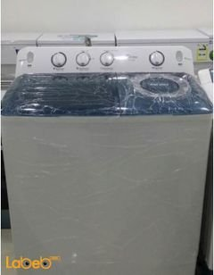 Dansat Twin Tup washing machine - 14kg - White - TW140AD model