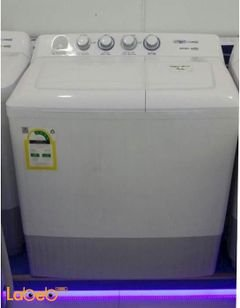 Ztrust Twin Tup washing machine - 12kg - White - ZWM140 model