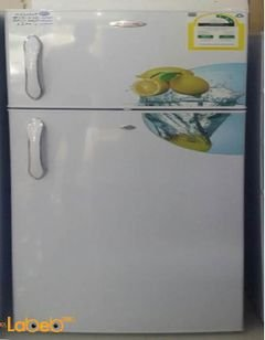 Richome Refrigerator top freezer - 245L - White - BCD-275 model