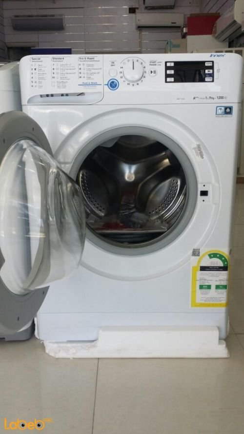 Indesit Front Load Washer XWE91283X WSSS model 9kg White color