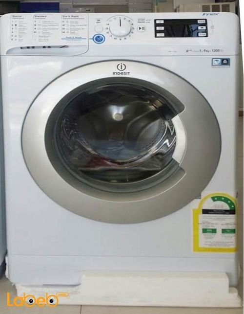 Indesit Front Load Washer 9kg White color XWE91283X WSSS
