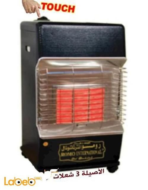 Romo international Gas Heater 3 heater setting Touch Ignition