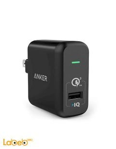Anker powerport+ 1 - 1USB port - Black Color - A2013211