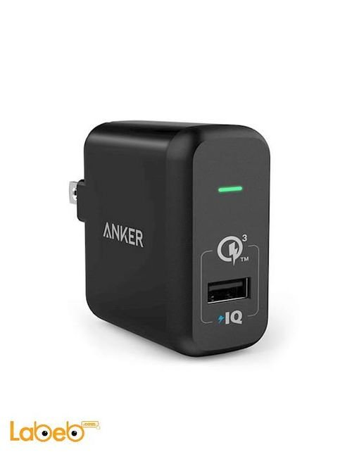 Anker powerport+ 1 1USB port Black Color A2013211