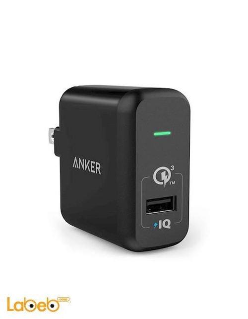 موزع طاقة انكر منفذ USB لون اسود A2013211