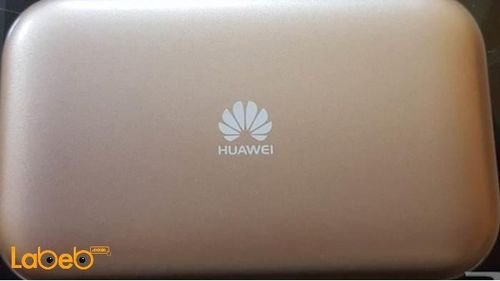 راوتر هواوي واي فاي 4G سعة 3000mAh ذهبي E5577S-932