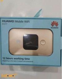 راوتر هواوي واي فاي 4G 3000mAh ذهبي E5577S-932