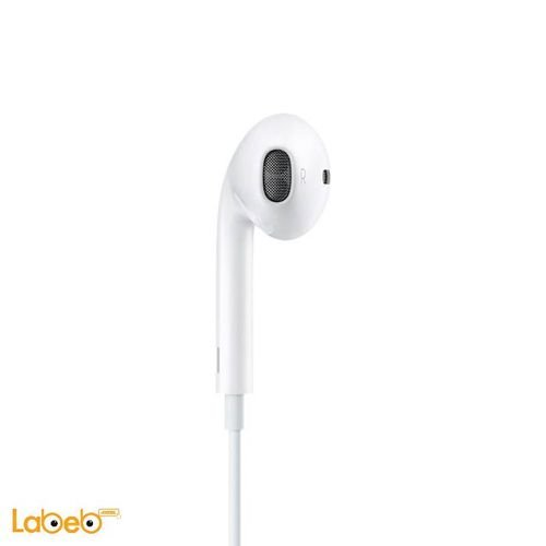Apple EarPods MD827ZM/B with remote and mic White color