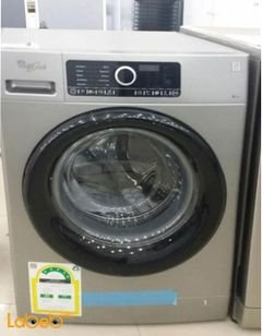 Whirlpool Front Load Washing Machine - 8kg - Silver -  FSCR80211