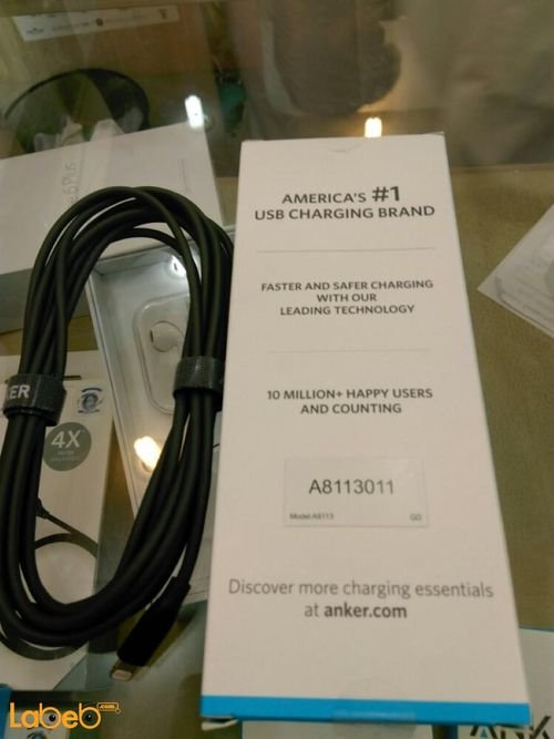 Anker lightning cable - iPod/iPad/iPhone - 3m - A8113011