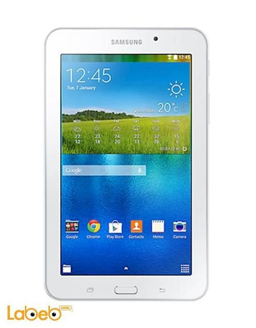 screen Samsung galaxy tab 3V tablet 7inch White SM-T116NU