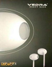 سماعة أذن VEDRA مناسبة لجميع الأجهزة لون ابيض VD-031