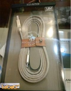 santa barbara Charging Cable - iPod/iPad/iPhone - 1.5m - gold