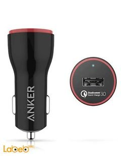 Anker Car PowerDrive+1 - Micro USB - Black - B2210H11