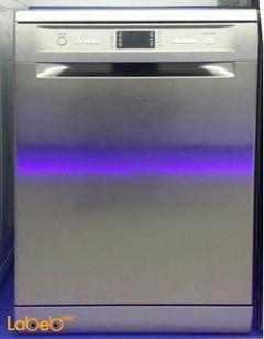 Ariston dish washer - 15 programs - Silver color - 8P112X model