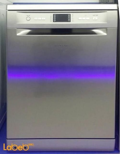Ariston dish washer 15 programs Silver color
