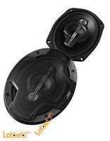 سماعات بيضوية للسيارة JVC قدرة 650 واط لون أسود CS-HX6959