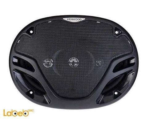 سماعات بيضوية للسيارة kenwood قدرة 650 واط أسود KFC-PS694E