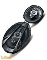 سماعات بيضوية للسيارة Sony قدرة 600 واط أسود XS-N6950