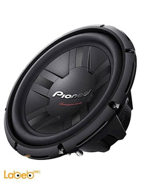 مضخم صوت pioneer TS-W311S4 حجم 12 انش 1400 واط
