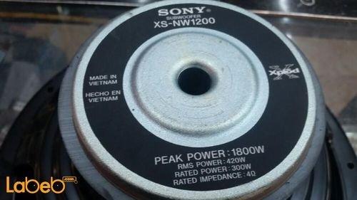 Sony xplod Car Subwoofer XSNW1200 12 inch 1800Watt
