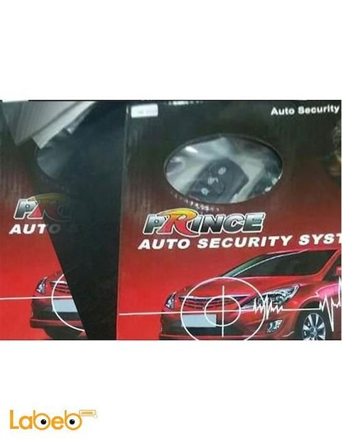 Prince auto security system PR-Y119 model with remote control