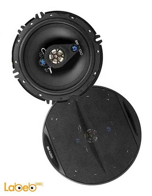 سماعات شكل بيضوي BM قدرة 500 واط أسود WJ1-S99V4