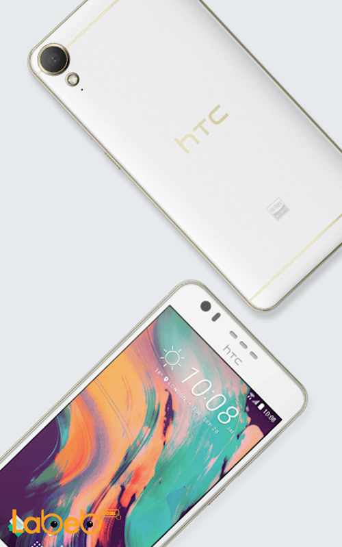 موبايل HTC Desire 10 lifestyle ذاكرة 32 جيجابايت أبيض