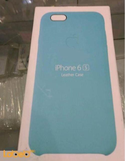 غطاء خلفي للموبايل مناسب لموبايل ايفون 6s لون ازرق