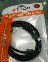 كابل شحن ETON طول 1.5 متر لون أسود موديل CB-225C