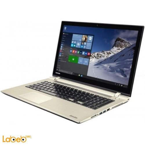 Toshiba laptop core i7 8GB 15.6 inch Gold C55-C2061