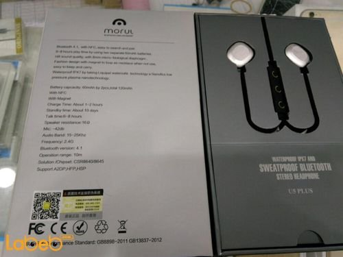 specefication Sweatproof Bluetooth Stereo Headphone