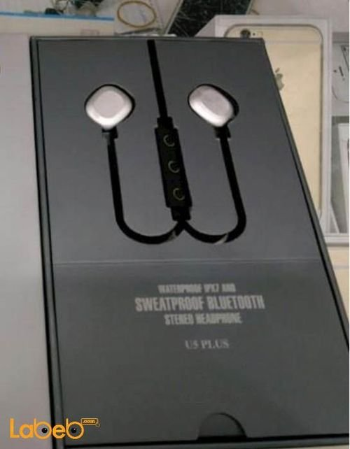 Sweatproof Bluetooth Stereo Headphone black