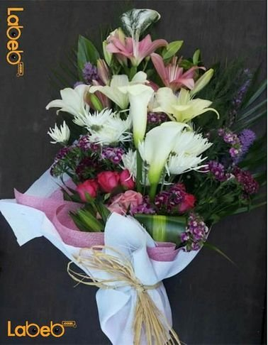 flower bouquet - Lilium - White roses - krez - red roses - jabothel