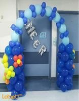 Balloons decoration different colors -for new born baby boy