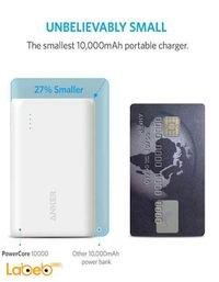 بطارية محمولة انكر 10000mAh منفذين USB موديل A1264