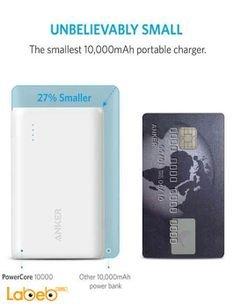 بطارية محمولة انكر - 10000mAh - منفذين USB - موديل A1264