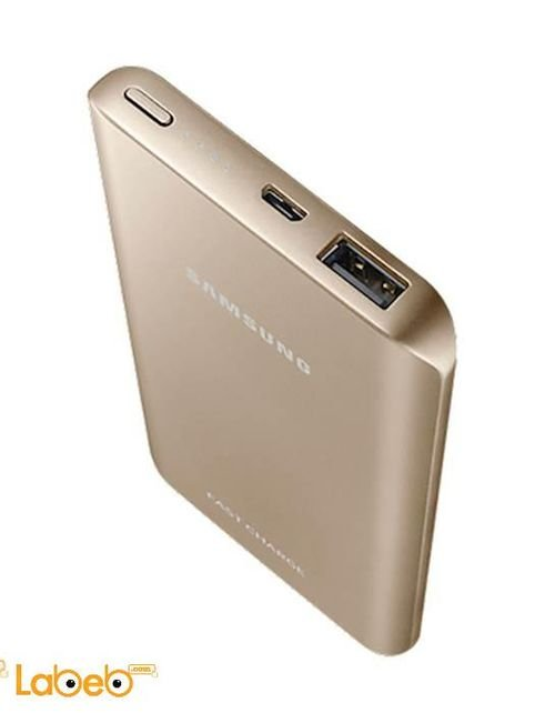 gold platinum Samsung Battery Pack 5200mah