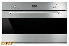 Smeg gas built in oven - 90cm size - Stainless - SF9370GGX
