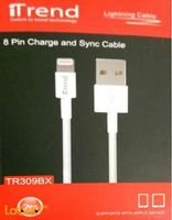 iTrend charge & sync cable Apple device 2m White TR309BX