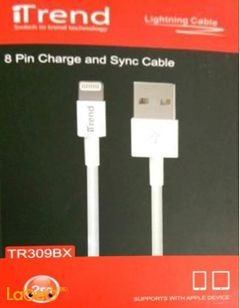 iTrend charge & sync cable - Apple device - 2m - White - TR309BX